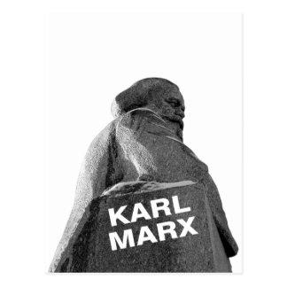 Karl Marx Postcard