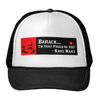 Karl Marx: Proud Of Barack! Trucker Hat
