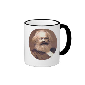 karl marx ringer mug