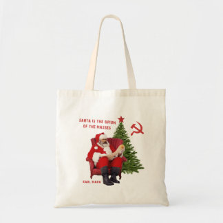 Karl Marx Santa Tote Bag