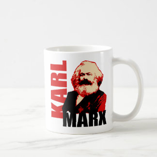Karl Marx, Socialist & Communist Coffee Mug