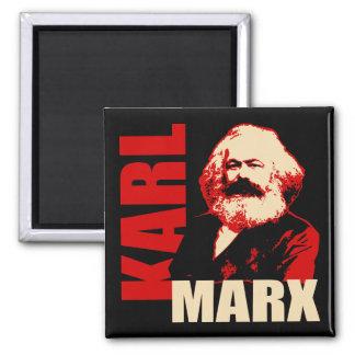 Karl Marx, socialista y comunista Imán Cuadrado