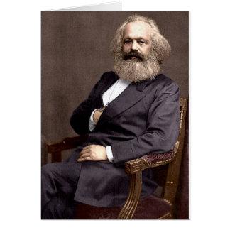 Karl Marx Tarjeta De Felicitación