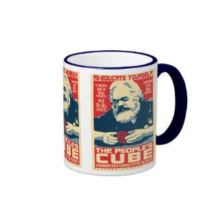 Karl Marx - The People s Cube OHP Mug