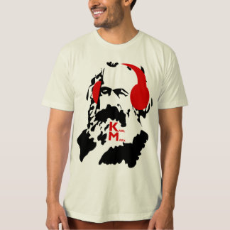 KARL MARX WITH HEADPHONES T-Shirt