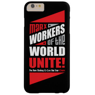 Karl Marx Workers of the World Unite Barely There iPhone 6 Plus Case