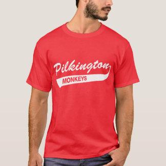 Karl Pilkington Monkeys la camiseta roja