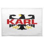 Karl Surname Place Mats