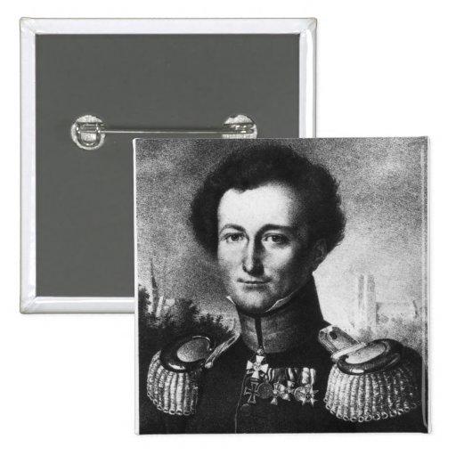 Karl von Clausewitz Pin