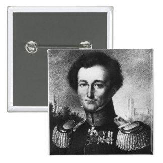 Karl von Clausewitz Pin Cuadrado