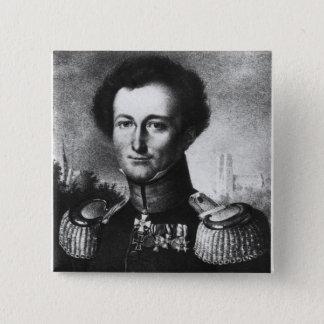 Karl von Clausewitz Pinback Button