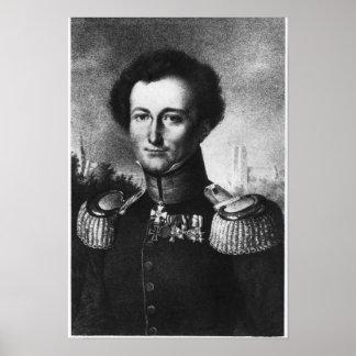 Karl von Clausewitz Poster