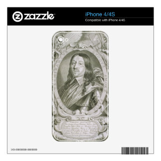 Karl X Gustav (1622-60) King of Sweden, from 'Port iPhone 4 Decal