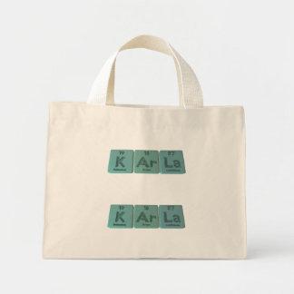 KArla  as Potassium Argon Lanthanum Tote Bags