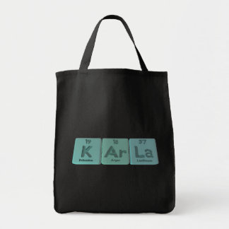 KArla  as Potassium Argon Lanthanum Canvas Bags