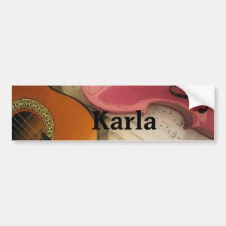 Karla Bumper Sticker