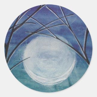 Karla's Moon Classic Round Sticker