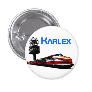 Karlex diseño pin redondo de 1 pulgada