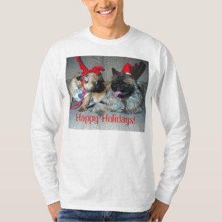 Karli & Bubba, Happy Holidays! T-Shirt