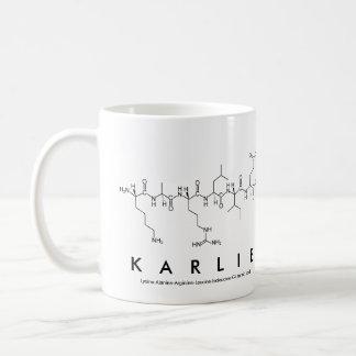 Karlie peptide name mug