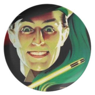 Karlini the Magician Melamine Plate