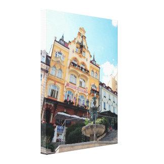 Karlovy Vary 001, Czech Photo Canvas Print