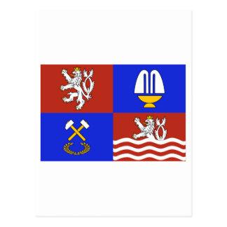 Karlovy Vary Flag Postcard