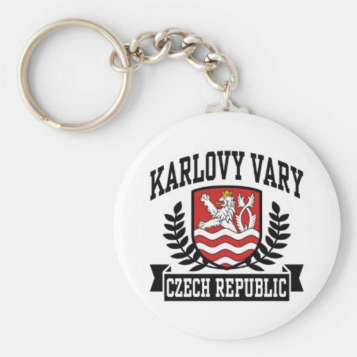 Karlovy Vary Keychains