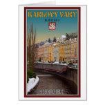 Karlovy Vary - Semnice River Winter Card