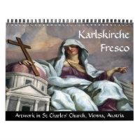 karlskirche fresco 2021 calendar