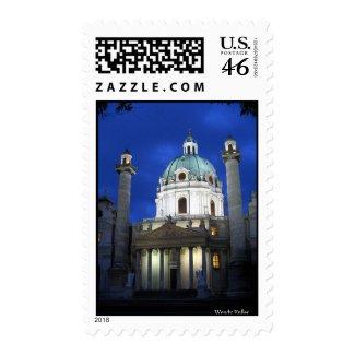 Karlskirche stamp