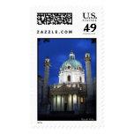 Karlskirche Postage Stamps