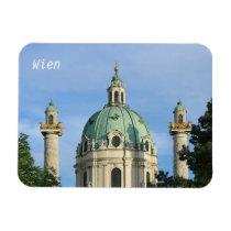 Karlskirche, Vienna, Austria Magnet