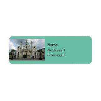 Karlskirche (Vienna) Label