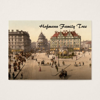 Karlsplatz and Railway Station, Munich, Germany Business Card