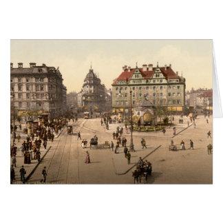 Karlsplatz and Railway Station, Munich, Germany Greeting Card