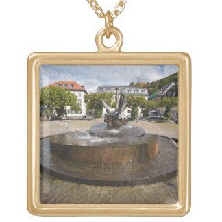 Karlsplatz (el cuadrado) de Karl, ciudad vieja Hei Colgante Cuadrado