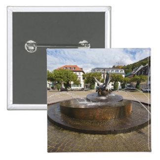 Karlsplatz (Karl's Square), Old Town Heidelberg Button