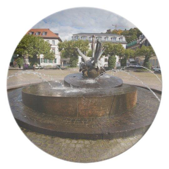 Karlsplatz (Karl's Square), Old Town Heidelberg Dinner Plate