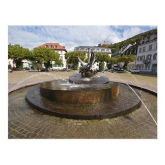Karlsplatz (Karl's Square), Old Town Heidelberg Postcard