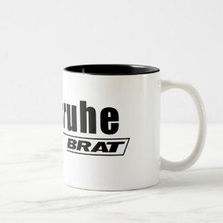 Karlsruhe Brat -A001 Two-Tone Coffee Mug
