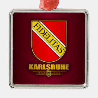 Karlsruhe COA Metal Ornament