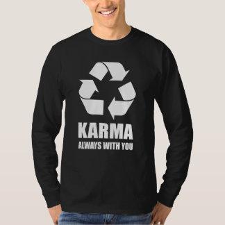 Karma Always With You Buddhist Buddha Funny T-Shirt