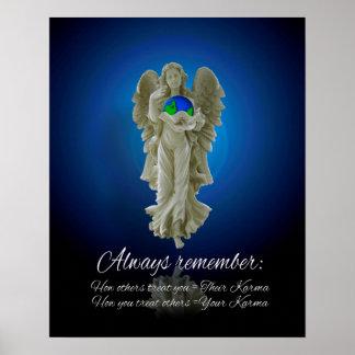 Karma angel poster