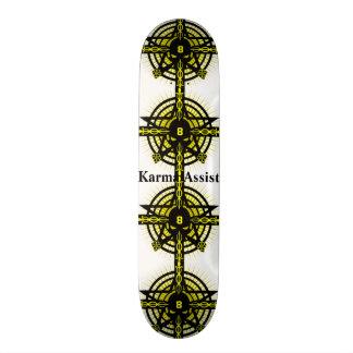 Karma assist skateboard deck