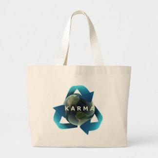 Karma Jumbo Tote Bag