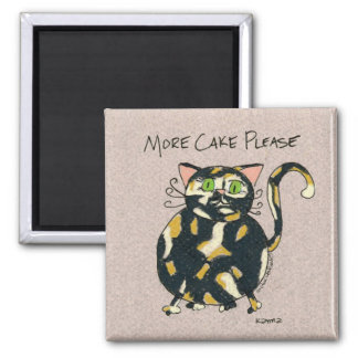 Karma Cakes 2 Inch Square Magnet
