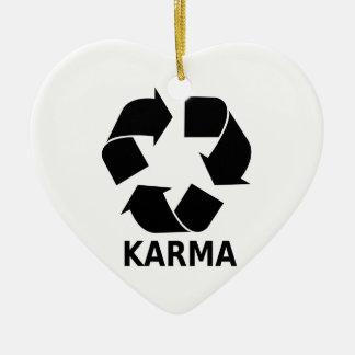 Karma Ceramic Ornament