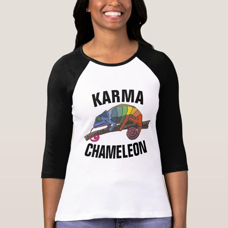 KARMA CHAMELEON Vintage 80s T-Shirts - Best Selling Long-Sleeve Street Fashion Shirt Designs