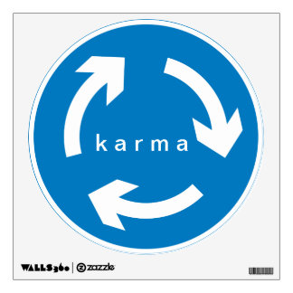 Karma Circle Wall Decal